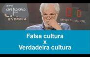 """""""É preciso não confundir cultura com erudição ou com saber muitas coisas"""""""